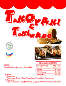 takoyaki premix,Takoyaki maker, Malaysia Crispy Waffle Supplier in Johor , Kuala Lumpur, Penang, Sabah , Sarawak